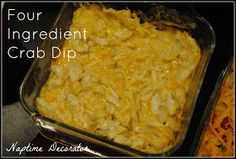 Superbowl or any game day Party...and the Best, Easiest Crab Dip EVER!