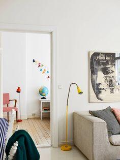 vardagsrum mot sovrum