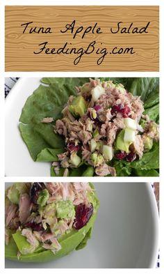 Apple Tuna Salad with #Ocean Naturals