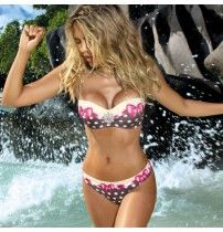 Cheap biquini up, Buy Quality biquini woman directly from China biquini brazilian Suppliers: 2017 Bikini push up Swimwear swimsuit Women Padded biquini Lady Bathing suit female bikini set maillot de bain brazilian biquini Bikini Push Up, The Bikini, Sexy Bikini, Frill Bikini, Halter Bikini, Halter Neck, Bikini Tops, Nylons, Bikini Swimwear