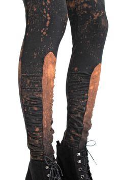 Eclipse Gathered Leggings by sarabergman on Etsy, $68.00