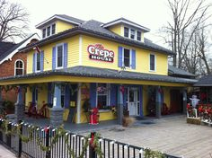 The Crepe House in Port Dover. Sweet or savory & live music Friday nights. Find them on FB. Lighthouse Festival, Great Places, Places Ive Been, Norfolk County, Friday Nights, Live Music, Road Trips, Niagara Falls, Ontario