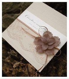 partecipazioni di nozze delicate