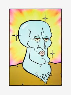 SpongeBob SquarePants Handsome Squidward Wood Wall Art, The SpongeBob Movie: Sponge on the Run is an upcoming 2020 American . it is the first SpongeBob SquarePants movie to be fully animated in stylized CG . Squidward Painting, Squidward Art, Spongebob Painting, Spongebob Drawings, Cartoon Painting, Simple Canvas Paintings, Small Canvas Art, Mini Canvas Art, Cartoon Kunst