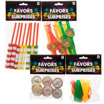Bulk Assorted Colorful Party Favors, 8-ct. Packs at DollarTree.com