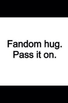 *Hugs* Pin to your fandom boards!!!