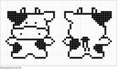 Kawaii Cross Stitch, Tiny Cross Stitch, Easy Cross Stitch Patterns, Simple Cross Stitch, Cross Stitch Borders, Cross Stitch Charts, Cross Stitching, Cross Stitch Embroidery, Perler Bead Templates