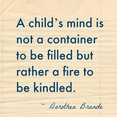 A Childs Mind Quote