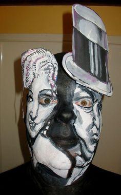 OMG crazy face painting ...classic actors