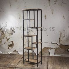 Industriële open kast - Vintagelab15.com