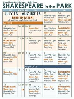 On the List | Outdoor Theater Festival, 2 walking tours, Sisters turn 16 (+20 more) | CHS Capitol Hill Seattle