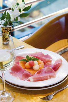 Culatello di Zibello DOP e Melone | Raw Ham Culatello of Zibello PDO and Melon, Emilia Romagna