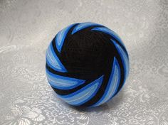 Japanese Temari Christmas Ornament by TheArtificer on Etsy, $40.00