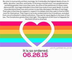 Congratulations, America. #LGBT #ProudAlly #SCOTUSMarriage