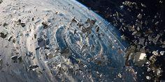 700 000 обломков опасного космического мусора засоряют нашу орбиту