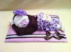 Diaper Baby #diapers #DIY #gift