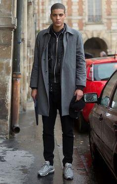 Street Style Photographs by FashionBeans: Zakaria Khiare