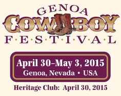 Like a little twang with your Tahoe? Cowboy Festival Concert Tickets are available now online!