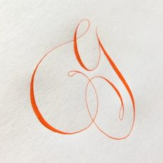 G for One of my favorite accounts (along with this vermillion sumi ink) 🍊 . Handwriting Fonts, Penmanship, Tattoo Lettering Fonts, Hand Lettering, Fancy Writing, Marker Paper, Sumi Ink, Lettering Tutorial, Calligraphy Letters