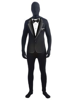 black morph suit costume idea | Halloween | Pinterest | Costumes ...