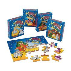 """""""Happy Birthday Jesus"""" Puzzles - OrientalTrading.com"""