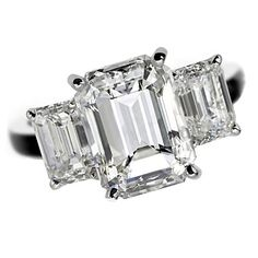 De Beers - These multi-stone stunners pack three times the punch - Engagement Ring