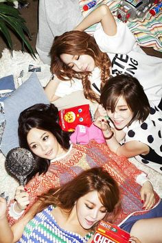 Brown Eyed Girls get together for a house party in new teaser image for 5th album, 'Black Box'    allkpop.com