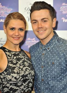 Ray Quinn and Maria Filippov at the Dancing on Ice Tour Opening Night Party in Manchester