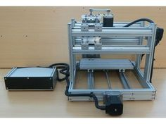 Desktop Mini Muscle CNC Machine. by CLaNZeR, via Kickstarter. Low Cost, Fast, Robust and Accurate Desktop CNC Machine