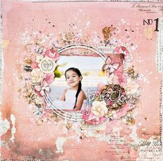 Precious Layout featuring Rossibelle with Tiffany Solorio on LWP  Thursday, August 4th at 6:30pm PT/ 9:30pm ET