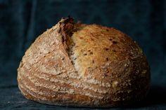 Flax Seed & Oatmeal Sourdough