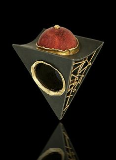 """pyramid"" ring by alishan jewelry designs"