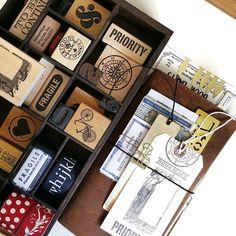 ❤ 7 Gypsies' Mounted Stamps ❤ @7gypsies @canvascorpbrands #travelersfactory