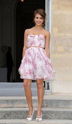Jessica Alba @ Christian Dior Show