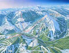 The places I have skied Yellowstone Club, Skiing, Mountains, Places, Nature, Travel, Dreams, Ski, Naturaleza