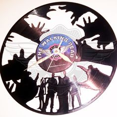 Vinyl Wall Clock WALKING DEAD 4