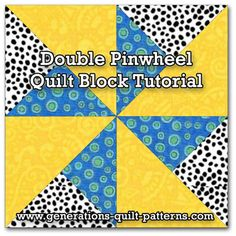Pinwheel Quilt Block | Pinwheel Quilt Block Patterns | Pinterest ... : how to make pinwheel quilt blocks - Adamdwight.com