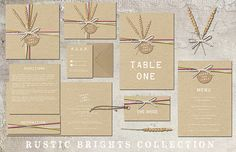 Boho Loves: Lucy Ledger 2014 Wedding Collection � A Fantastic Eclectic Mix of Wedding Stationery