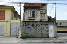 Old house at Adolfo Pinheiro Avenue Sao Paulo - Brazil