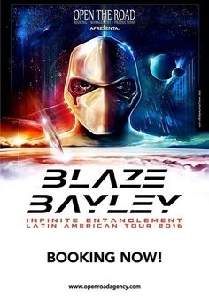 HeadbangerVoice: Blaze Bayley: nova turnê na América Latina nos mes...