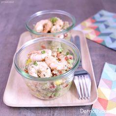Barbecue, Salad Recipes, Potato Salad, Shrimp, Potatoes, Meat, Ethnic Recipes, Party, Tabbouleh Recipe