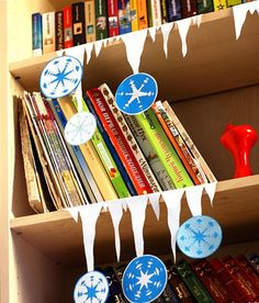 Icicle classroom decorations
