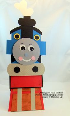 Thomas the Train card