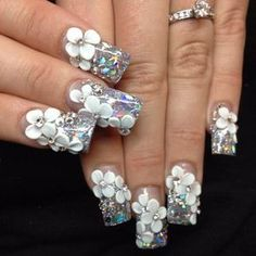 How To Do 3d Nail Art Perfectly 2 Simple 3d Nail Tutorials Fashion