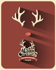 Minimal Christmas Backgrounds by Vintage Vectors Studio, via Behance