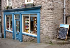 The Hay Book Company, Hay-on-Wye (Wales' National Book Town), UK.