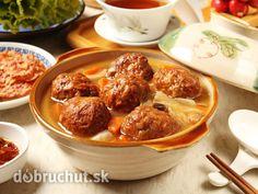 Hubové knedličky do polievky
