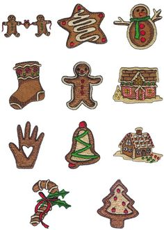 OregonPatchWorks.com - Sets - Gingerbread I