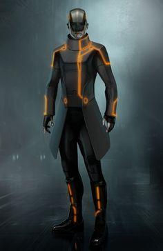 "Concept art from ""Tron: Legacy"" Tron Legacy, Trondheim, Character Concept, Concept Art, Tron Art, Tron Uprising, Sci Fi Armor, Futuristic Art, Sci Fi Characters"