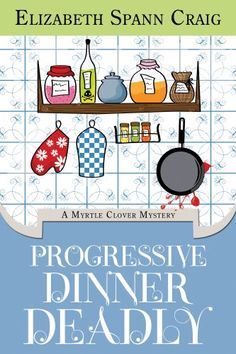 Progressive Dinner Deadly - this book is free on Amazon as of November 3, 2012. Click to get it. See more handpicked free Kindle ebooks - judged by their covers fresh every day at www.shelfbuzz.com